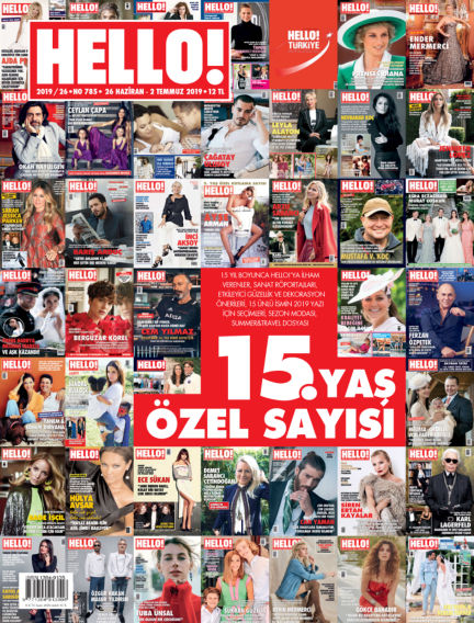 HELLO! - Türkiye June 26, 2019 00:00