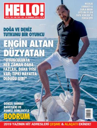 HELLO! - Türkiye 2019-07-25