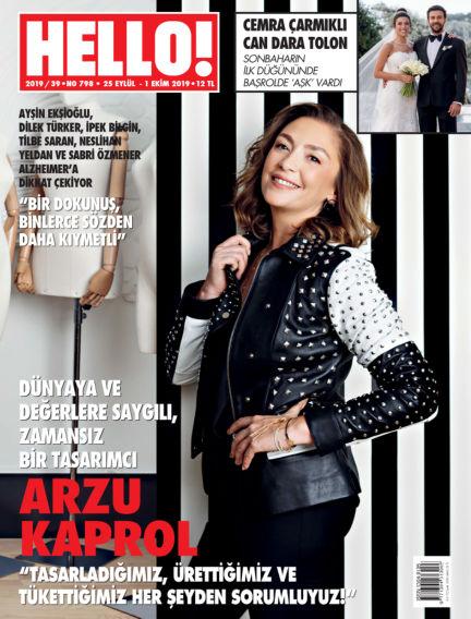 HELLO! - Türkiye September 26, 2019 00:00