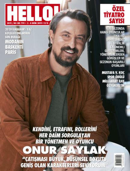 HELLO! - Türkiye October 02, 2019 00:00