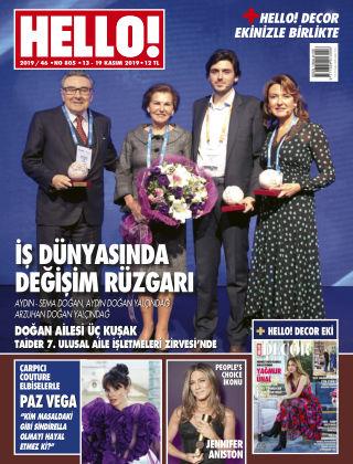 HELLO! - Türkiye 2019-11-14
