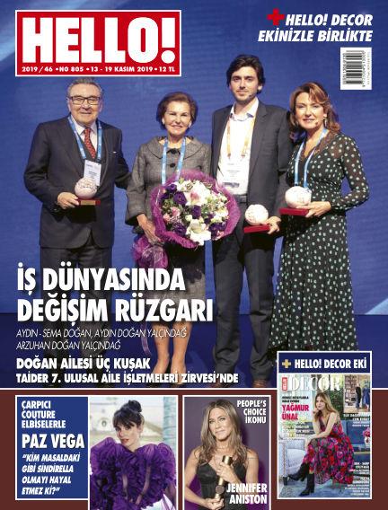 HELLO! - Türkiye November 14, 2019 00:00