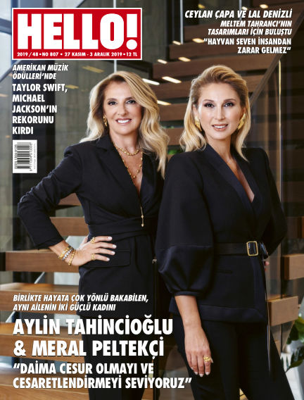 HELLO! - Türkiye November 26, 2019 00:00