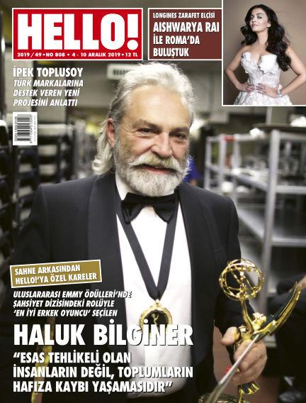 HELLO! - Türkiye December 04, 2019 00:00