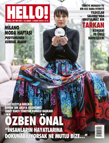 HELLO! - Türkiye February 28, 2020 00:00