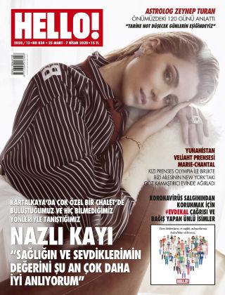HELLO! - Türkiye 2020-03-25