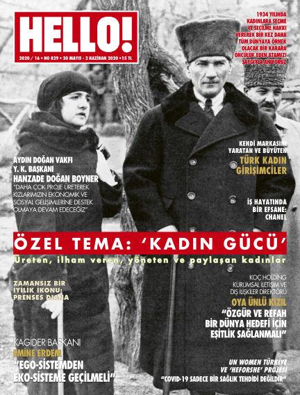 HELLO! - Türkiye May 21, 2020 00:00