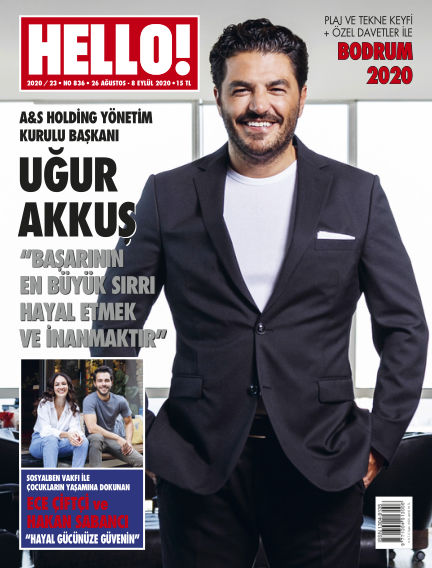 HELLO! - Türkiye August 26, 2020 00:00