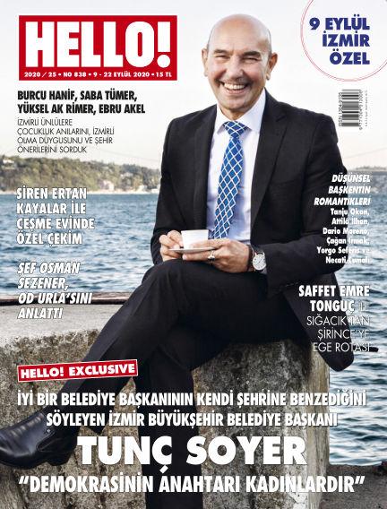 HELLO! - Türkiye September 09, 2020 00:00