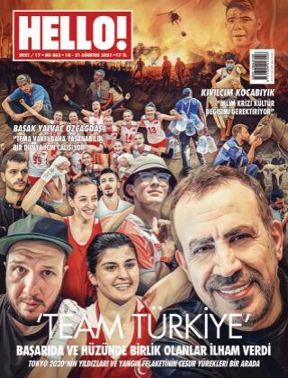 HELLO! - Türkiye 2021-08-18