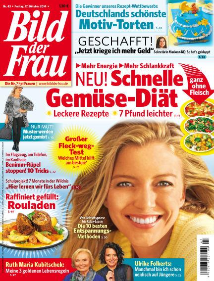 BILD der FRAU October 17, 2014 00:00