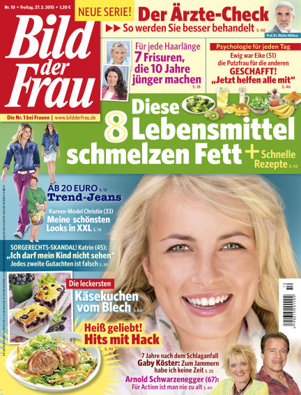 BILD der FRAU February 27, 2015 00:00