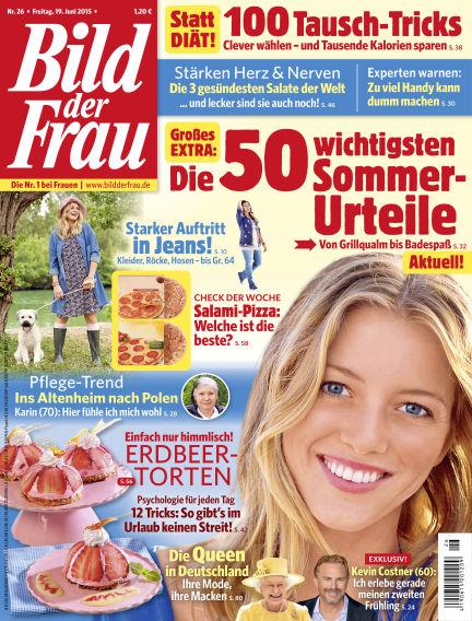 BILD der FRAU June 19, 2015 00:00
