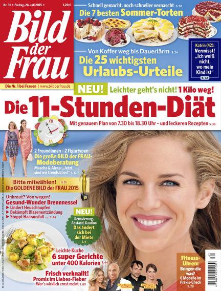 BILD der FRAU July 24, 2015 00:00
