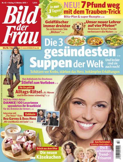 BILD der FRAU October 09, 2015 00:00