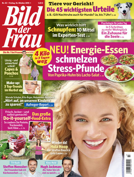BILD der FRAU October 16, 2015 00:00
