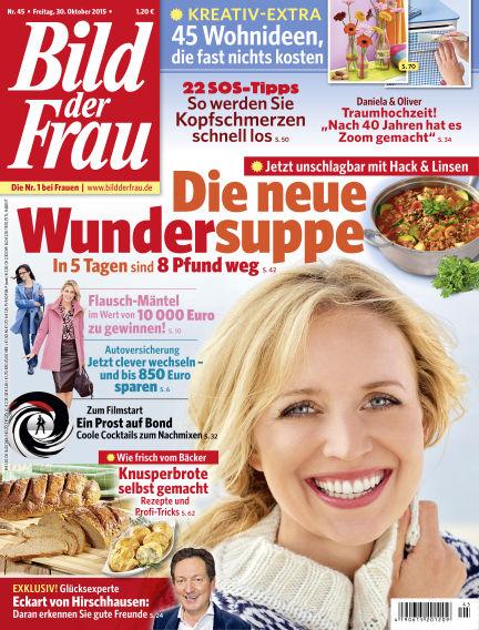 BILD der FRAU October 30, 2015 00:00