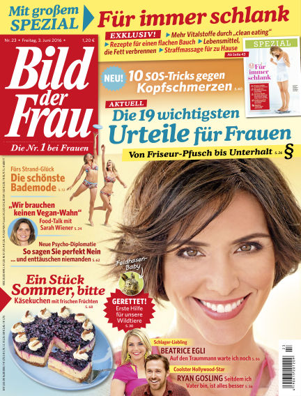 BILD der FRAU June 03, 2016 00:00