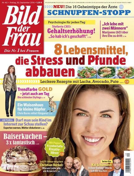 BILD der FRAU September 30, 2016 00:00