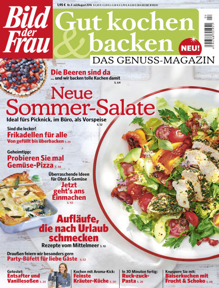 BILD der FRAU Gut Kochen & Backen July 01, 2016 00:00