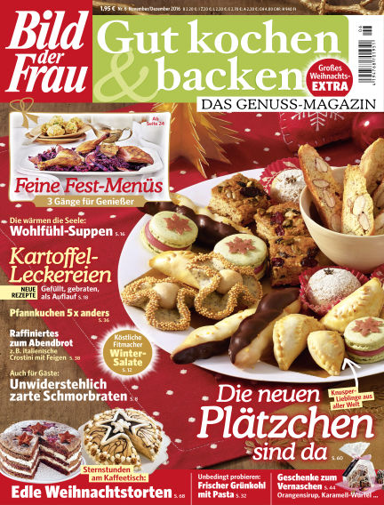 BILD der FRAU Gut Kochen & Backen October 21, 2016 00:00