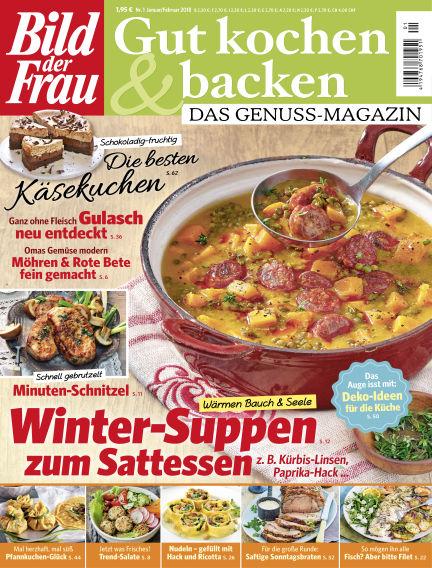 BILD der FRAU Gut Kochen & Backen January 05, 2018 00:00