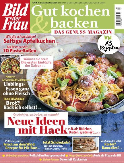 BILD der FRAU Gut Kochen & Backen August 24, 2018 00:00