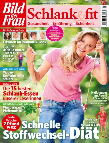 BILD der FRAU Schlank & Fit August 08, 2014 00:00