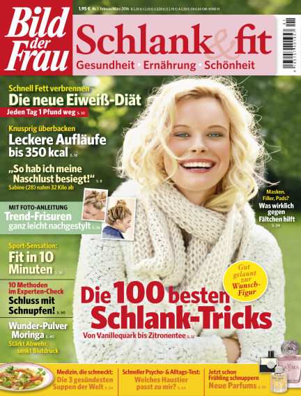 BILD der FRAU Schlank & Fit January 29, 2016 00:00