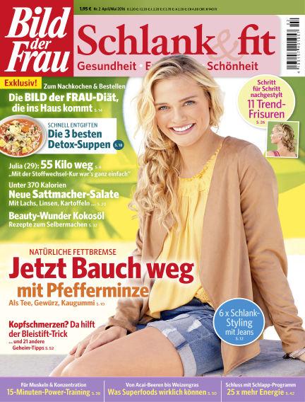 BILD der FRAU Schlank & Fit April 01, 2016 00:00
