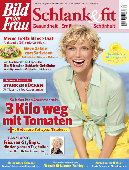 BILD der FRAU Schlank & Fit August 05, 2016 00:00