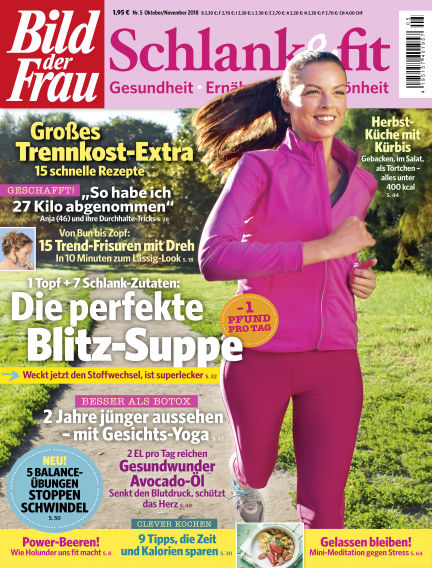 BILD der FRAU Schlank & Fit October 05, 2018 00:00