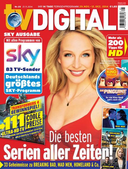 TV DIGITAL SKY November 21, 2014 00:00