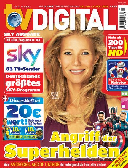 TV DIGITAL SKY January 16, 2015 00:00