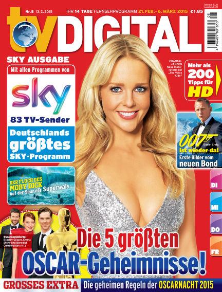 TV DIGITAL SKY February 13, 2015 00:00