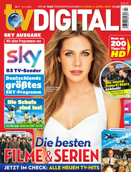 TV DIGITAL SKY March 13, 2015 00:00