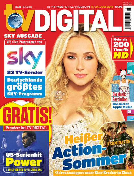 TV DIGITAL SKY July 03, 2015 00:00