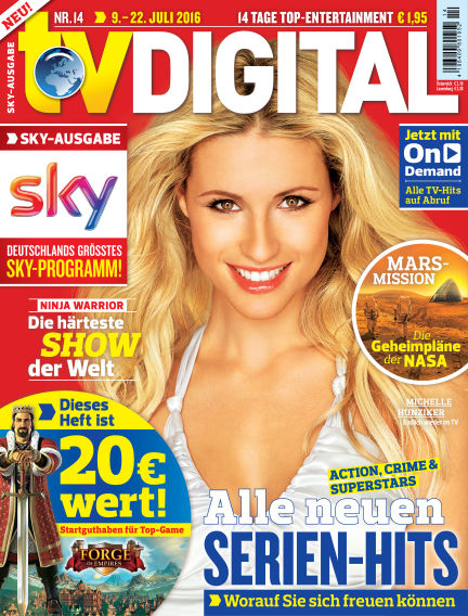 TV DIGITAL SKY July 01, 2016 00:00