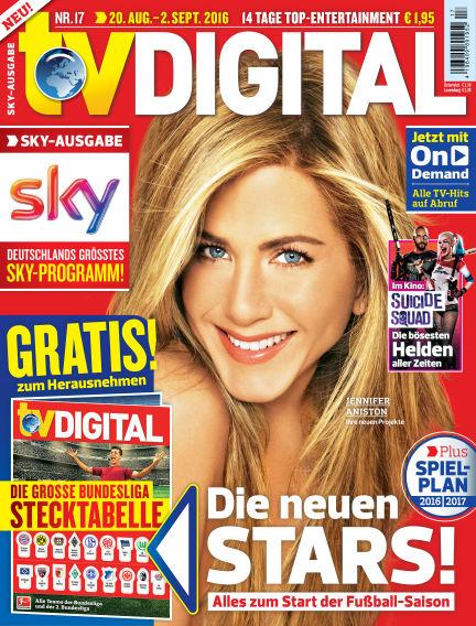 TV DIGITAL SKY August 12, 2016 00:00