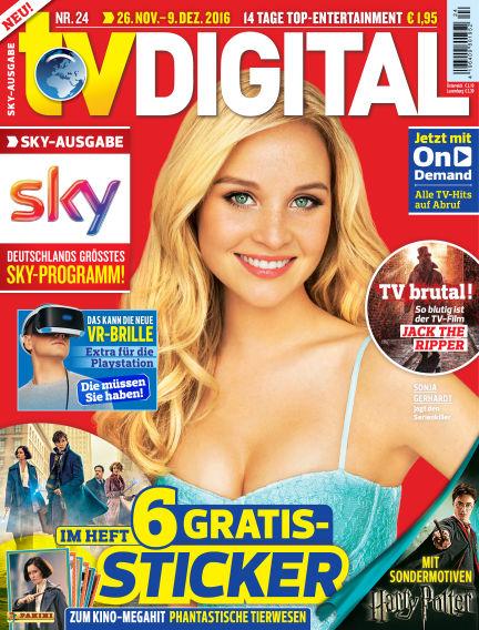 TV DIGITAL SKY November 18, 2016 00:00