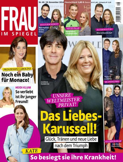 Frau im Spiegel November 19, 2014 00:00