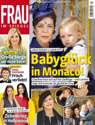 Frau im Spiegel NR.49 2014
