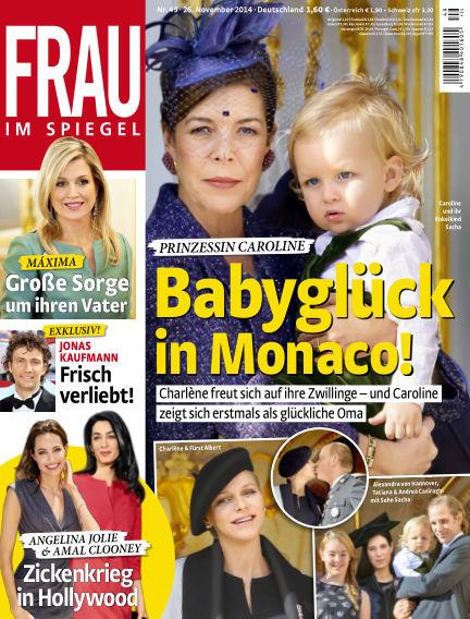 Frau im Spiegel November 26, 2014 00:00