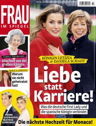 Frau im Spiegel NR.51 2014