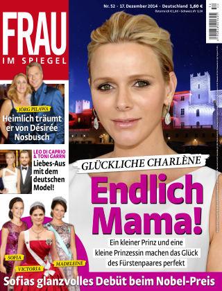 Frau im Spiegel NR.52 2014