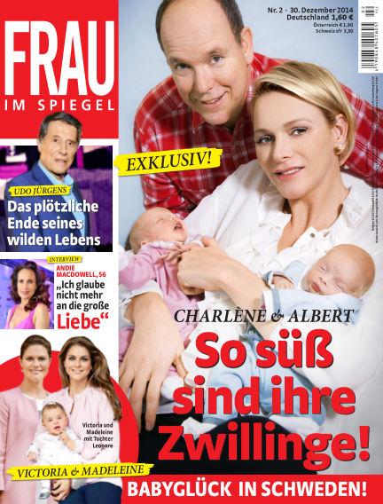 Frau im Spiegel December 31, 2014 00:00