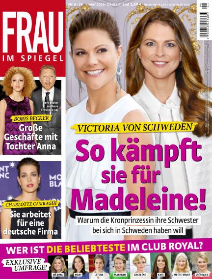Frau im Spiegel January 28, 2015 00:00