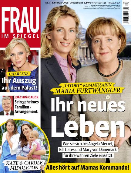 Frau im Spiegel February 04, 2015 00:00