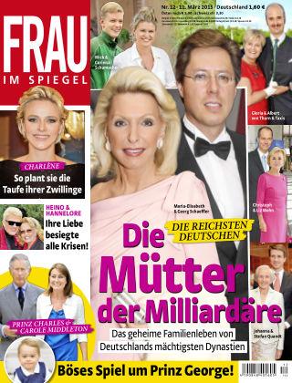 Frau im Spiegel NR.12 2015