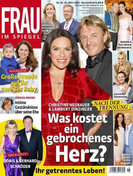 Frau im Spiegel March 31, 2015 00:00